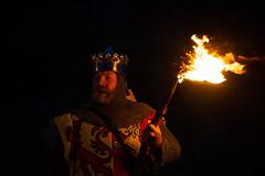 Owain Glyndwr (Coed Celyn Photography) Tags: flame torches fire torchlit torchlight march flames orange glow burning knight knights walk parade medieval reenactment larp armour re enact harlech castle north wales gwynedd snowdonia eryri cymru cymraeg living history