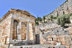 fullsizeoutput_8c8e (lnewman333) Tags: delphi greece europe ancient historic archaeologicalsite archaeology ruins greekmythology mountparnassus ancientgreece delphoi