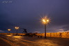 "Sparkle In The Rain (""A.S.A."") Tags: alghero sardegna sardinia italy italia europe island mediterranian sea sunset lowlight rain nightshot streetlight sonya7rmkii zeissloxia2128 wideangle asa2018"