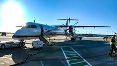 Q400 N430QX Loading Up Under A Late Boise Sun (AvgeekJoe) Tags: iflyalaska alaskaair alaskaairlines boise boiseinternationalairport bombardierdhc8402q bombardierdash8400 bombardierdash8q402 bombardierq400 d5300 dhc8402q dslr dash8 dehavillandcanadadhc8402qdash8 horizonair idaho kboi n430qx nikon nikond5300 panorama propliners q400 tamron18400mm tamron18400mmf3563diiivchld aircraft airplane aviation plane propliner turboprop gowenfield boiseairterminal gowenfieldairnationalguardbase