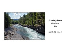 "St. Mary River • <a style=""font-size:0.8em;"" href=""https://www.flickr.com/photos/124378531@N04/30423648017/"" target=""_blank"">View on Flickr</a>"
