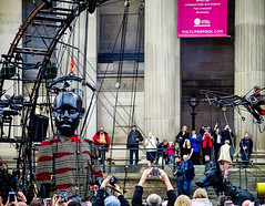 Wake Up Xolo and Little Boy at St.Georges Hall (CloudBuster) Tags: royal de luxe liverpools dream liverpool culture 2018 united kingdom