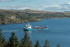 Oil Tanker On Loch Long (Click And Pray) Tags: managedbyclickandpraysflickrmanagr bronyborg oiltanker above lochlong coulport landscape argyll scotland horizontal treeline bronyborgoiltankerabovelochlongcoulportlandscapeargyllscotlandhorizontaltreelinegbr