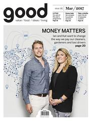 GOOD magazine Cover (Kristina Willke) Tags: magazine magazinecover profile