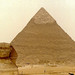 The Sphynx & Great Pyramid