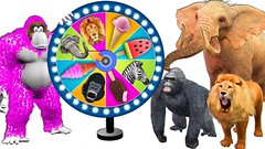 Wild Animals Playing Magic Spin Wheel With Ice Cream - Cartoon For Kids (Hoàng Đồng) Tags: babies cartoonforkids children icecream magicspinwheel nurseryrhymes playing toddlers wildanimals