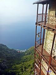 Mt Athos - Holy Monastery of Simonos Petra – Simonopetra Chalkidiki Greece. ~ Άγιο Όρος Ιερά Μονή Σίμωνος Πέτρας Χαλκιδική Ελλάδα. (George @) Tags: simonopetramonastery σιμωνόπετρα simonopetra simonospetra σίμωνοσπέτρασ simonsrockmonastery άγιο όροσ μονή agionoros αγιονοροσ άγιονόροσ mountathos mtathos holymonastery holymountain mount monastery holyplace orthodox orthodoxia greekorthodox greekorthodoxchurch ορθοδοξία ελλάδα greece χαλκιδική halkidiki chalkidiki griechenland simons rock arsanas simonos petras ελλάσ macedonia mysticmacedonia ouranoupolis religion faith holy monks orthodoxy christianity christian christiansorthodoxchristian seaview view travel mountain architecture rocks landscape george papaki eyes photography photografer georgeeyesphotography georgeeyes georgepapaki photografia φωτογραφία visitgreece greekphotographers europeanphotography naturephotography landscapephotography 0nlygreece cross hellas macedoniagreece