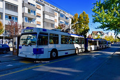 Trolleybus NAW BT-25 n°788 en service sur la ligne 17. © Marc Germann (Marc Germann) Tags: trolleybus naw bt25 ligne17 hesskièpe hessag nawhess nawhesssiemens fbw rétrobus transportspublics transport tl lausanne mercedescitarobenz flirt train leb par brise routes bus convois remorques autobus man articulé historic autopostale