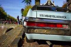 #babybluebuick (Eric Flexyourhead) Tags: amsterdam netherlands holland nederland city urban street carspotting car american buick blue babyblue babybluebuick sonyalphaa7 zeisssonnartfe35mmf28za zeiss 35mmf28