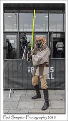 Star Wars - Plo Koon (Paul Simpson Photography) Tags: paulsimpsonphotography plokoon starwars scifi sciencefiction thebathshall scunthorpe lincolnshire cosplay imagesof imageof photoof photosof lightsabre jedimaster jedi november2018 filmcharacter