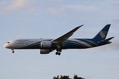 A4O-SF (IndiaEcho Photography) Tags: a4osf oman airlines boeing 7879 london heathrow lhr egll airport airfield civil aircraft aeroplane aviation airliner jet hounslow urban farm middlesex england canon eos 1000d