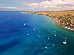 DJI_0517A (Aaron Lynton) Tags: malawarf maui hawaii westside warf boat ramp beach lahaina drone dji djimavicpro djimavic mavicpro