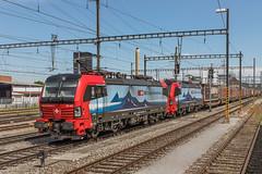 193 462 en 193 464 SBB Cargo International. Pratteln (Hans Wiskerke) Tags: pratteln basellandschaft zwitserland ch