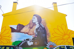 tribute to Amália Rodrigues by Smile1art (Brejão, Odemira) (Gail at Large | Image Legacy) Tags: 2018 amáliarodrigues brejão odemira portugal fadista gailatlargecom mural roadtrip streetart