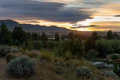 Twilight in El Calafate, Patagonia, Argentina