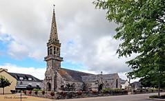 Eglise St Fiacre de GUENGAT (claude 22) Tags: hdr photoshop painter bretagne brittany france breizh eglise finistère church guengat stfiacre saint fiacre claude22