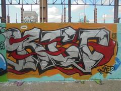 474 (en-ri) Tags: bored 18 2018 argento nero rosso arancione torino wall muro graffiti writing parco dora