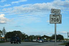 FL708 East Sign Roadside - Riviera Beach (formulanone) Tags: rivierabeach florida fl708 708