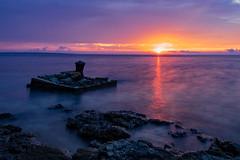 Coucher de soleil Croatie (cyril.casassa) Tags: sea sun beautiful croatia travel holidays croatie cres island anawesoneshot