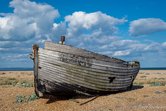 The Derelict Boat (daveseargeant) Tags: dungeness kent seaside sea coast landscape nikon df 50mm 18g derelict colour
