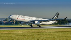 """AIR CANADA """"STAR ALLIANCE"""" A330-343 (lavierphilippephotographie) Tags: plane airplane aircraft airline airliner longhaul longcourrier airbus airbusindustries a330 a330343 cghlm aircanada staralliance avgeek spotter pl planespotter bru bruxelles brussels zaventem"""