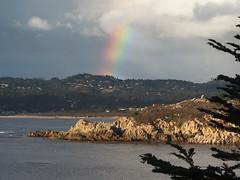 Rainbow over Carmel (Tom Clifton) Tags: pointlobos whalescove carmel rainbow