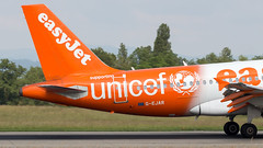 Airbus A319-111 G-EJAR easyJet - UNICEF Livery (William Musculus) Tags: airport spotting basel mulhouse freiburg euroairport eap bsl mlh lfsb airbus a319111 gejar easyjet unicef livery u2 ezy a319100 special scheme