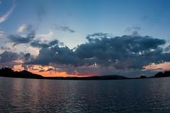 IMG_5096-1 (Andre56154) Tags: schweden sweden sverige see lake wasser water landschaft landscape sonne sun sonnenuntergang sunset himmel sky wolke cloud dämmerung abendrot afterglow