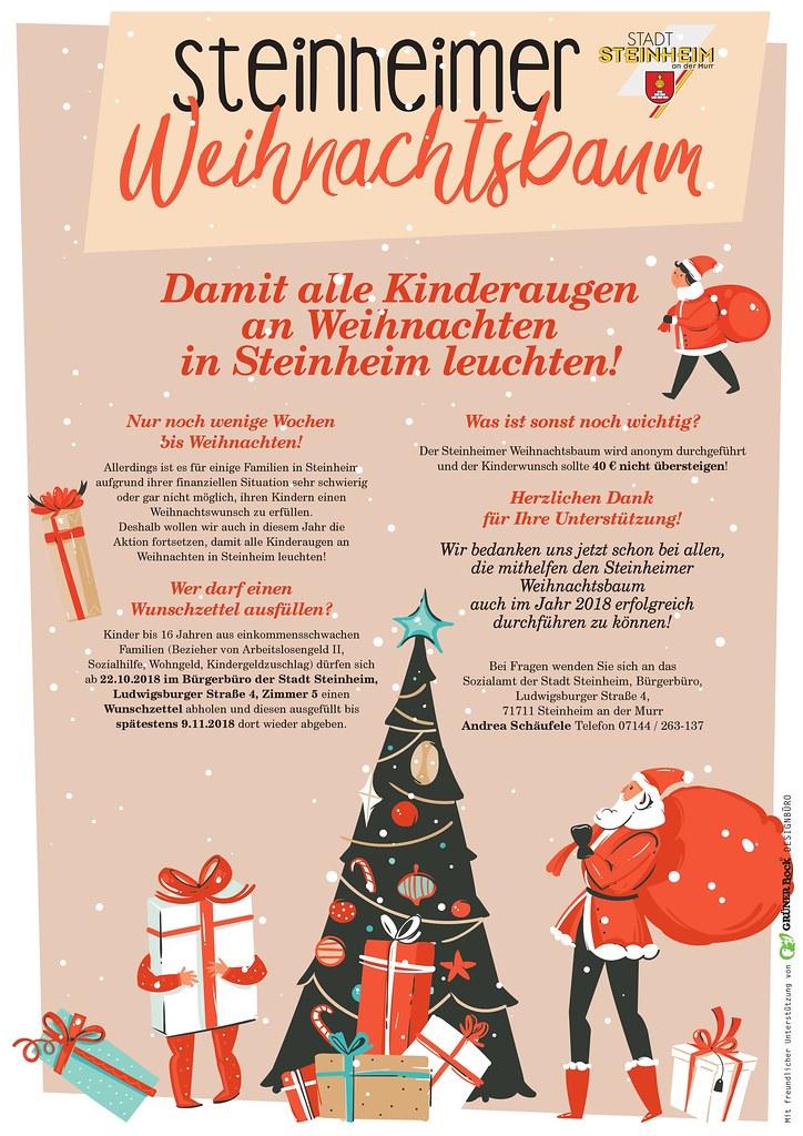 Steinheimer Weihnachtsbaum 2018 \