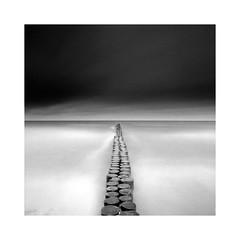 Wustrow (Christian Seifert) Tags: wustrow baltic sea film ostsee beach strand long exposure acros fuji iso100 pentax 645 645n medium format waves germany