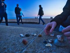 Beach Walk 05Oct18 (lukenaum) Tags: sharp blur beach walk collecting stones