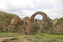 Ruins of a Roman Amphitheatre, near Timgad (Buster&Bubby) Tags: romanruins amphitheatre algeria algérie timgad