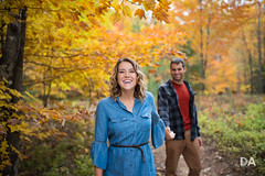 The Flavor of Happy (Thousand Word Images by Dustin Abbott) Tags: 2018 autumn litegeniussuperscoopiii foliage ilce7rm3 canonef35mmf14lusmii sigmamc11converter yongnuowirelesstrigger sony thousandwordimages mirrorless dustinabbottnet dustinabbott sonya7r3 sonya7riii fullframe portrait pembroke photography ontario canada petawawa metz64af1flash engagement photodujour ca allaboutthephotos youtube