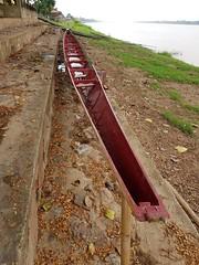 Long boat (SierraSunrise) Tags: boats esarn isaan mekong mekongriver nongkhai phonphisai rivers thailand
