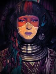 old spirit (madalinabita) Tags: self portrait art faces figures indian chief apache old spirit legend madalinabitaimages madalina bita photography