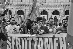 Manifestazione Nazionale (Claudia Celli Simi) Tags: manifestazione roma nazionalizzare 2018 ottobre usb poterealpopolo sindacati sfruttati bw bn biancoenero blackandwhite contrasto monocromo ritratti portrait