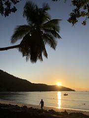 Sundown at Anse la Mouche (hydroxycoumarin) Tags: tropical beach mahé seychelles