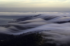 Cloud City (Omnitrigger) Tags: eastpeak tam mttamalpais norcal bayarea nature fogflow karl fog sanfrancisco