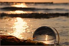 Meer ... (der bischheimer) Tags: ostsee baltic kugel crystal lensball poel strand canon derbischheimer