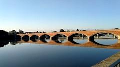 Ponte Vittorio Emanuele s. Mauro (to) (only_sepp) Tags: ponte smauro po fiume riflessi vittorioemanuele