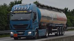 D - Holsten Oel Iveco Stralis (BonsaiTruck) Tags: holsten oel iveco stralis lkw lastwagen lastzug truck trucks lorry lorries camion caminhoes