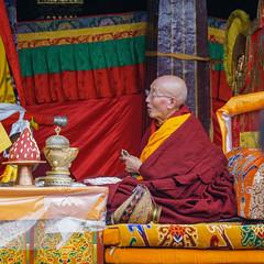 Predecessor in Jokhang Monastry - Lhasa - Tibet (Sjak11) Tags: vividstriking ngc jokhangmonastry tibet sony predecessor lhasa
