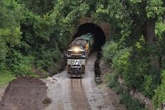 NS 1117 (CC 8039) Tags: ns up cp trains sd70ace tunnel st paul minnesota