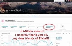 6-Million-Views!! (marcomariamarcolini) Tags: marcomariamarcolini records 6millionviews 6million record 6 milioni