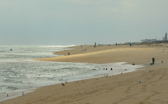 A Changing Day (hpaich) Tags: wave ocean water sandyhook nj jersey newjersey shore beach sand