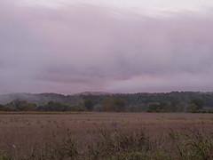 CRW_2142 (David J. Thomas) Tags: bethesda arkansas whiteriver clouds fog farms fields roads dawn sunrise morning