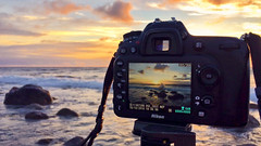 What I did after work today ツ (Ranveig Marie Photography) Tags: jæren hårr norge norway solnedgang nikon camera hå autumn sea wave waves bølger kyst coast iphone
