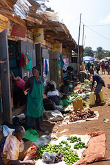 Market at the ferry terminal - Entebbe (JohnMawer) Tags: entebbe market