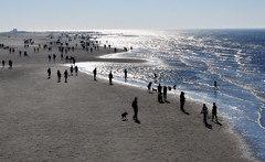 _to the horizon (SpitMcGee) Tags: tothehorizon biszumhorizont nordsee strand ebbeflut ebbflow stpeterording nordfriesland schleswigholstein germany spitmcgee explore 194