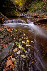 Fall Creek Gorge (jrobfoto.com) Tags: in autumn moss landscape indiana canyon water pothole sony raw fallcreekgorge flora alpha tumblr 500px outdoor waterfall fauna a7rii twitter fullframe williamsport unitedstates us